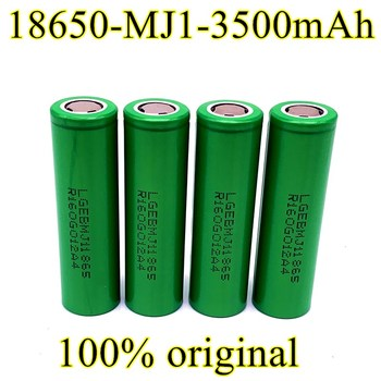 18650 Akumulatoru MJ1 3,7 v 3500 mah Litija Akumulators bateriju akumulatori 18650 LG MJ1 3500mah akumulators