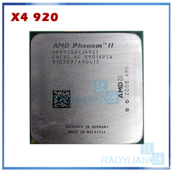AMD Phenom X4 920 2.8 GHz Quad-Core CPU Procesors HDX920XCJ4DGI 95W Socket AM2+/940PIN