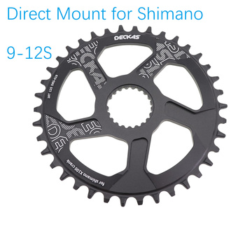 Deckas Direct Mount Chainring Kārta 12 ātrums Shimano m9100 m8100 m7100 32 34 36 38T Chainwheel mt 900 9100 8100 7100 12s